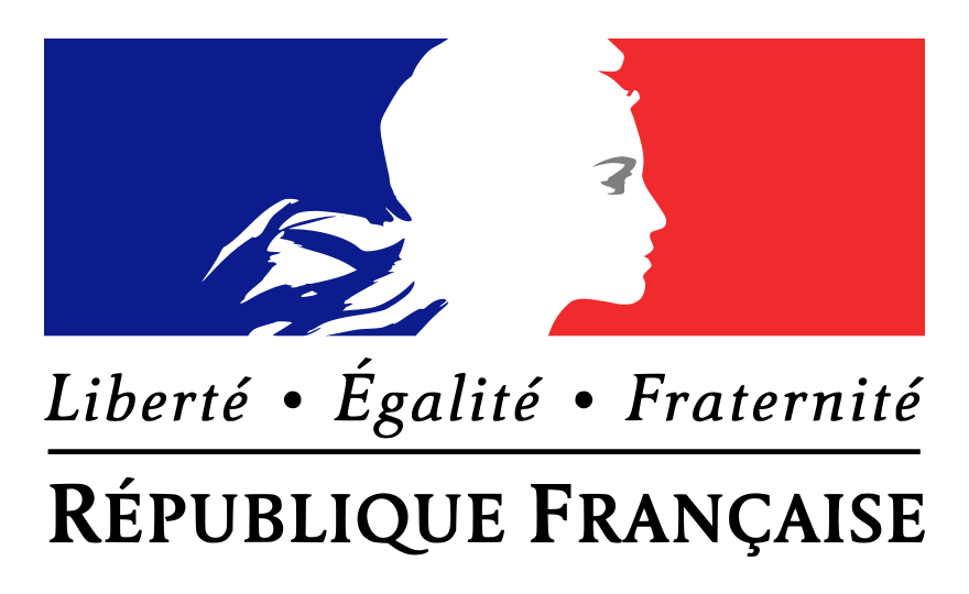 Logo de la republique francaise 1
